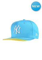 NEW ERA Womens Fade And Shine New York Yankees Snapback Cap vice blue/white