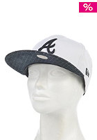 NEW ERA Womens Spotty Atlanta Braves Snapback Cap white/black