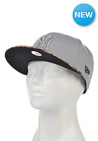 NEW ERA Womens Tropical Blush New York Yankees Snapback Cap grey/heather pink