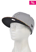 NEW ERA Womens Tropical Blush New York Yankees Snapback Cap grey/heather pink