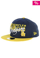 Wordfront Los Angeles Dodgers Fitted Cap navy/yellow