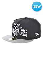 NEW ERA Wordmark Central Oakland Raiders Cap team colour