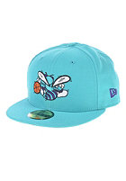 NEW ERA WYB Charlotte Hornets Home Court Team Fitted Cap blue