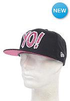 NEW ERA YO 9Fifty YO! Fitted Cap black/pink