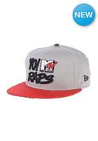 NEW ERA YO Raps 9Fifty MTV Snapback Cap gey/hot red/graphite
