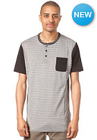 NIKE ACTIONSPORTS Blocker Dri-Fit Henley S/S T-Shirt black