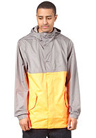 NIKE ACTIONSPORTS Division Packable FT Jacket flat pewter/bright citrus