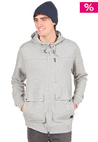 NIKE ACTIONSPORTS Parka Hooded Zip Sweat dark grey heather