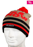 NIKE ACTIONSPORTS Pom Pom Beanie Color/Text bamboo/black/challenge red