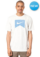 NIKE ACTIONSPORTS Ribbon Logo DFB Blank S/S T-Shirt gamma grey htr/photo blue
