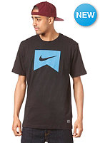 NIKE ACTIONSPORTS Ribbon S/S T-Shirt black/photo blue