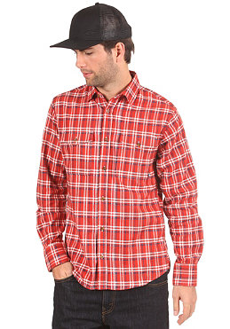 NIKE ACTIONSPORTS Road Dog Flanell L/S Shirt dragon red