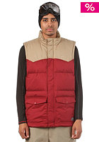 NIKE SB 550 Fill Vest team red/filbert