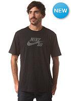 NIKE SB DF SB Icon Reflective S/S T-Shirt black/black