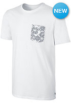 NIKE SB Dri-Fit Geo Dye Pocket S/S T-Shirt white/white/wolf grey