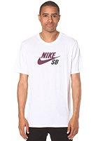 NIKE SB Dry Fit Icon Logo white/mulberry/black