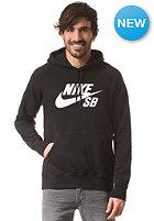 NIKE SB Icon Hooded Fleece Sweat black/white