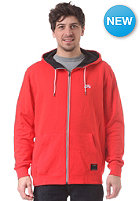 NIKE SB Icon Hooded Zip Sweat lt crimson/black/white