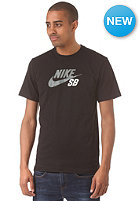 NIKE SB Icon Logo S/S T-Shirt black/black/bomber grey