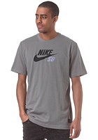 NIKE SB Icon Logo S/S T-Shirt med base grey