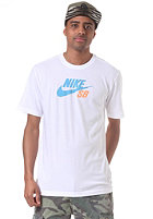 NIKE SB Icon Logo S/S T-Shirt white