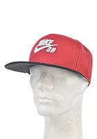 NIKE SB Icon Snapback Cap gym red/black/white