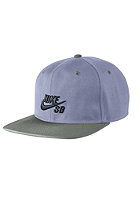 NIKE SB Icon Snapback Cap iron purple/black/med base grey/black