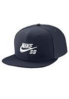 NIKE SB Icon Snapback Cap obsidian/black/white