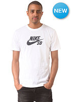 NIKE SB Icon Speckle S/S T-Shirt white/white/black
