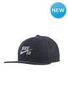 NIKE SB Reflective Icon Snapback Cap black/black/reflective silv