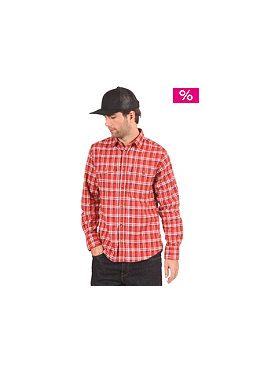 NIKE SB Road Dog Flanell L/S Shirt dragon red
