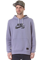 NIKE SB SB Icon Hooded Sweat iron purple/med base grey/black