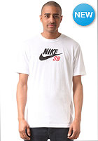 NIKE SB SB Icon Logo S/S T-Shirt white/white/black