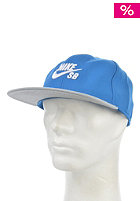 NIKE SB SB Icon Snapback Cap military blue/black/base grey/white