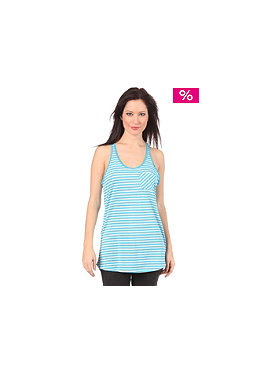 NIKE SB Womens Luxe Layer PKT Tank Top current blue/cashmere