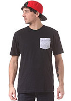 NIKE SB Woodgrain Pocket S/S T-Shirt black/white