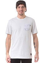 NIKE SB Woodgrain Pocket S/S T-Shirt lt base grey/white