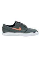 NIKE SB Zoom Stefan Janoski Canvas dk mica green/atmc orange-blk
