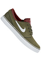 NIKE SB Zoom Stefan Janoski medium olive/white-tm red-blk