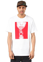NIKE SPORTSWEAR AF1 Seduce Me S/S T-Shirt white/university red