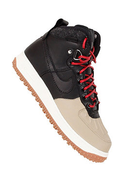 NIKE SPORTSWEAR Air Force 1 Duckboot black/black/khaki/sail