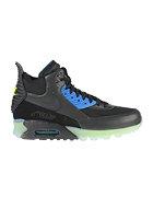 NIKE SPORTSWEAR Air Max 90 Sneakerboot Ice black/black-dark ash-pht blue