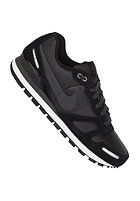 NIKE SPORTSWEAR Air Waffle Trainer Leather black/anthrct-white-mtllc slvr