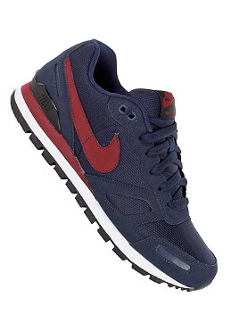NIKE SPORTSWEAR Air Waffle Trainer midnight navy/team red/black/white