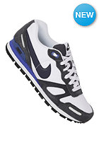 NIKE SPORTSWEAR Air Waffle Trainer white/obsidian/anthrct/hypr bl