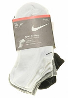 Ankle Socks black/white/grey heather