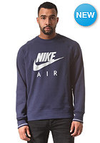NIKE SPORTSWEAR Aw77 Ft Air Crew Sweat midnight navy/pure platinum