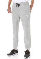 NIKE SPORTSWEAR Aw77 Ft Cuff Pant dk grey heather/white