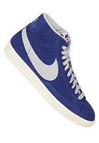 NIKE SPORTSWEAR Blazer Mid Premium Vintage Suede dp ryl bl/strt gry-gm md brwn