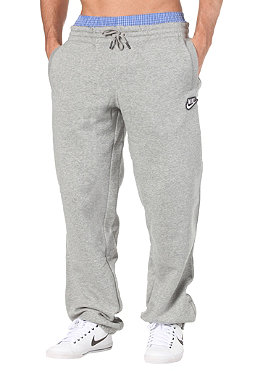 NIKE SPORTSWEAR Brushed Cuffed Pant dark grey heather/white
